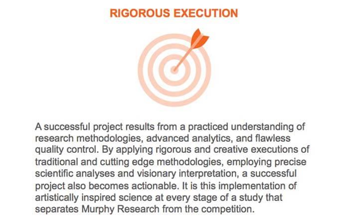 Murphy Research Pillars-Rigorous Execution