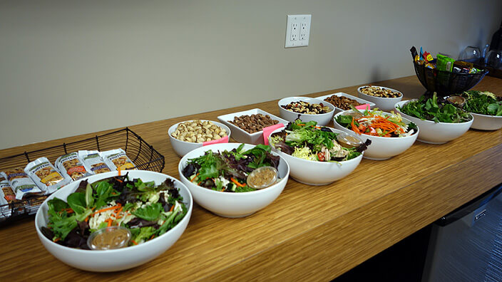 10 Tips to Staying Healthy in a Focus Group's Backroom