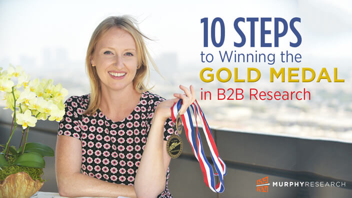 10 Steps to Winning the Gold Medal in B2B Research