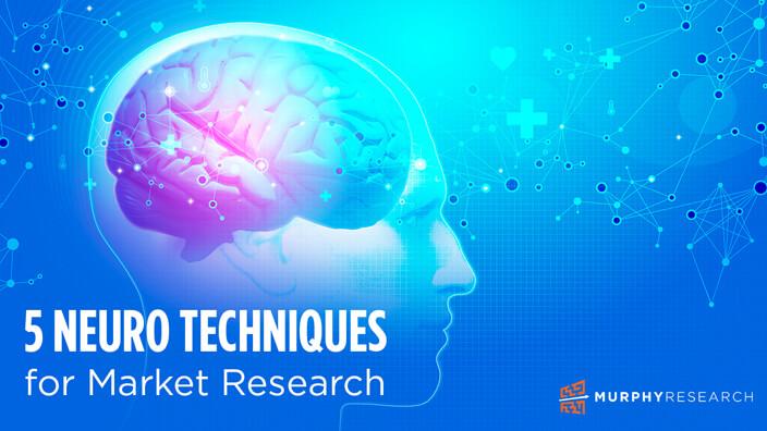 5 Neuro Techniques for Market Research