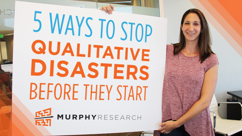 5 Ways to Stop Qualitative Disasters Before They Strike