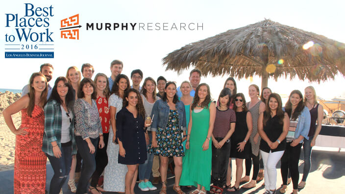 Murphy Research Named Again One of Best Places to Work in LA