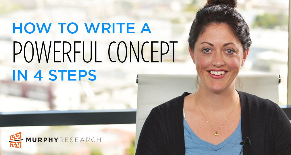 How to Write a Powerful Concept in 4 Steps