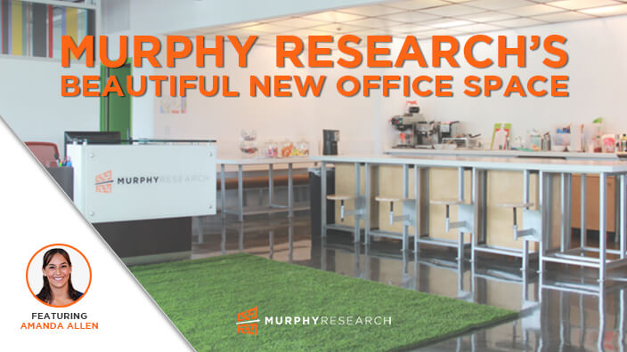Murphy Research's Beautiful New Office Space