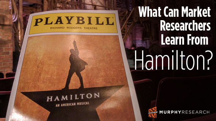 What Can Market Researchers Learn from Hamilton?