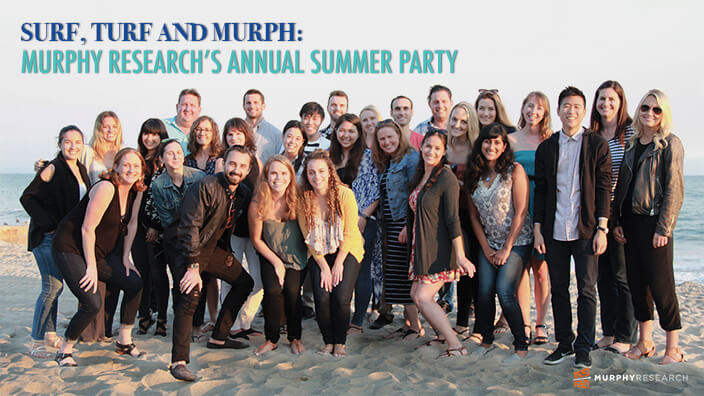 Surf, Turf and Murph: Murphy Research's Annual Summer Party