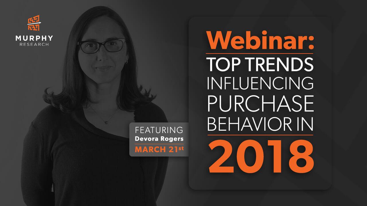 Top Trends Influencing Purchase Behavior in 2018