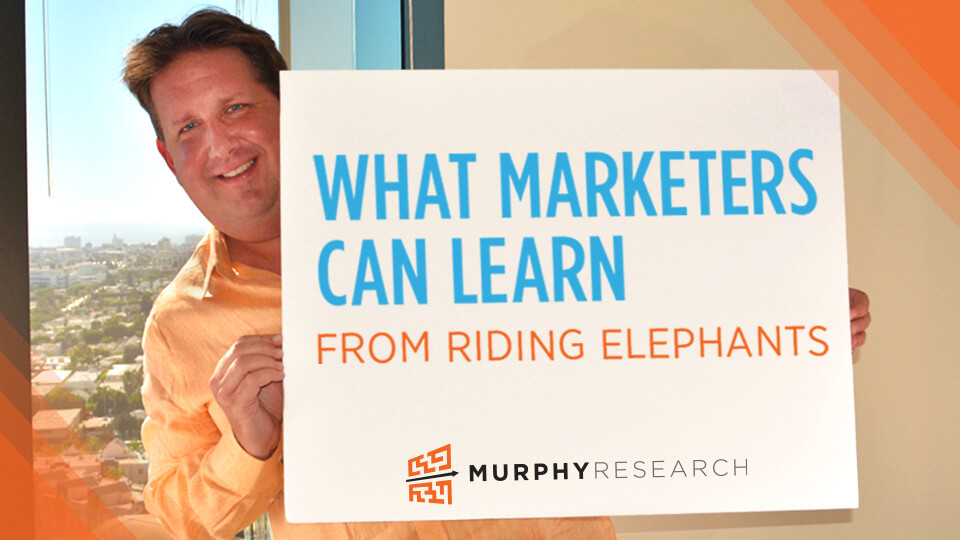 What Marketers Can Learn from Riding Elephants