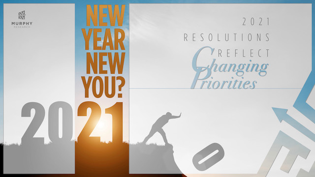 New Year New You? 2021 Resolutions Reflect Changing Priorities